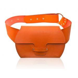 Bella Hands Free Leather Bag