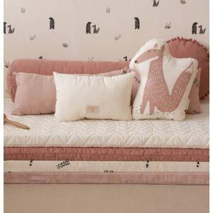 Bloom Pink Monaco Floor Mat by Nobodinoz
