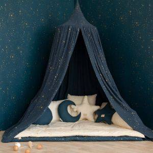 Gold Stella / Night Blue Amour Canopy