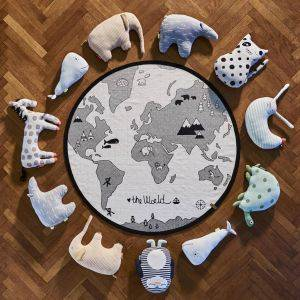 Hello World Hand Printed Playmat