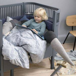Sebra Giant Sleepy Croc Cushion / Cot Bumper
