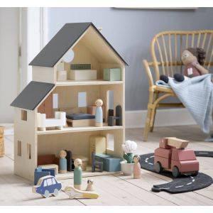 Luxury Scandi 25 Piece Doll's House