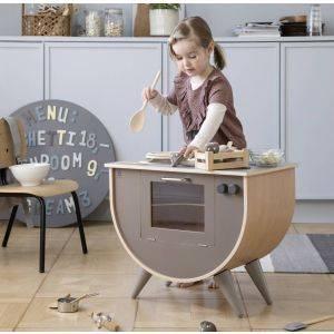 Sebra Warm Grey Luxury Play Kitchen
