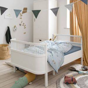 Classic White Baby And Junior Bed
