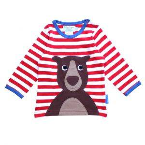 Organic Cotton Bear Sleeve T-Shirt