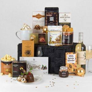 Luxury Christmas Basket Hamper
