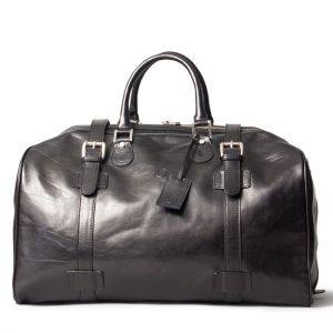 Maxwell Scott Flero L Luxury Leather Overnight Bag