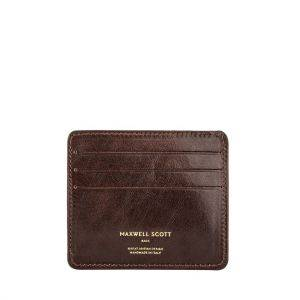 Maxwell Scott Marco Mens Leather Credit Card Holder