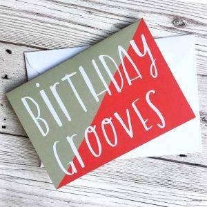 Birthday Grooves Card