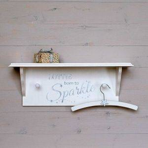 Personalised Born To Sparkle Shelf