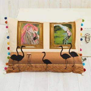 Flamingo Gallery Cushion