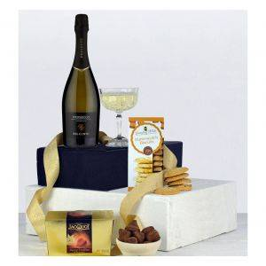Prosecco Chocolates and Biscuits Hamper