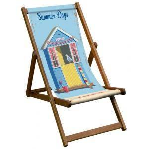 Summer Days Art Print Deck Chair