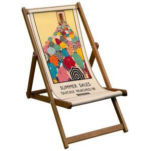 Summer Sales London Transport Deck Chair