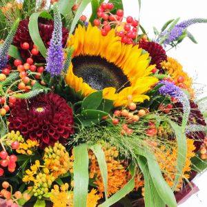 Sunflower Bouquet with Carnations