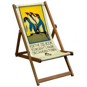 For The Zoo London Transport Deck Chair