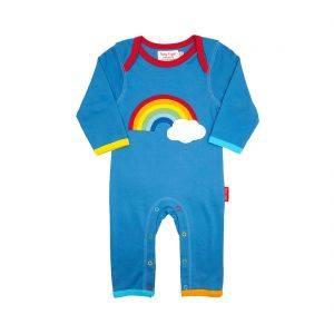 Rainbow Cloud Sleepsuit