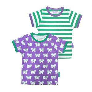 Butterfly T-Shirt Two Pack