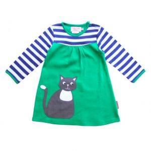 Organic Cotton Cat Sleeve T-Shirt Dress