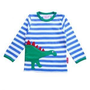 Organic Cotton Dino Sleeve T-Shirt