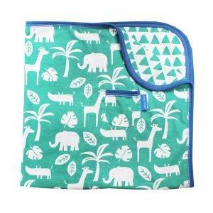 Green Jungle Blanket