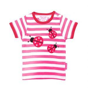 Organic Cotton Ladybird T-Shirt