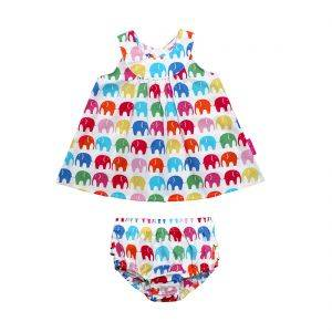 Multi Elly Baby Girl Dress