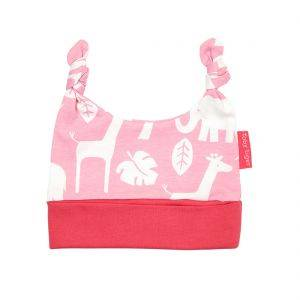 Pink Jungle Knot Hat