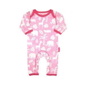 Pink Jungle Sleepsuit
