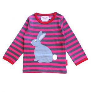 Organic Cotton Rabbit Sleeve T-Shirt