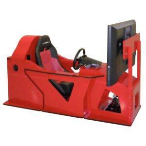 Elite Racer Pro Simulator Red