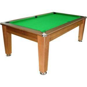 Bespoke Pool Table Polished Dark Walnut