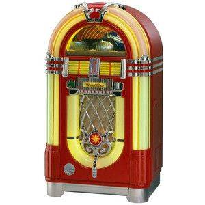 Wurlitzer CD Juke Box Red