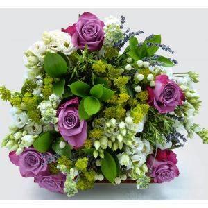 Windlesham White Lavender Bouquet