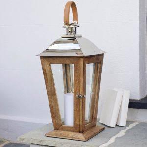 Sustainable Wood Lantern Appledore