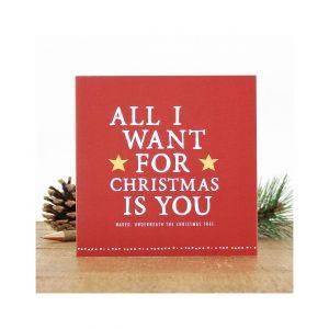 Naked Christmas Card